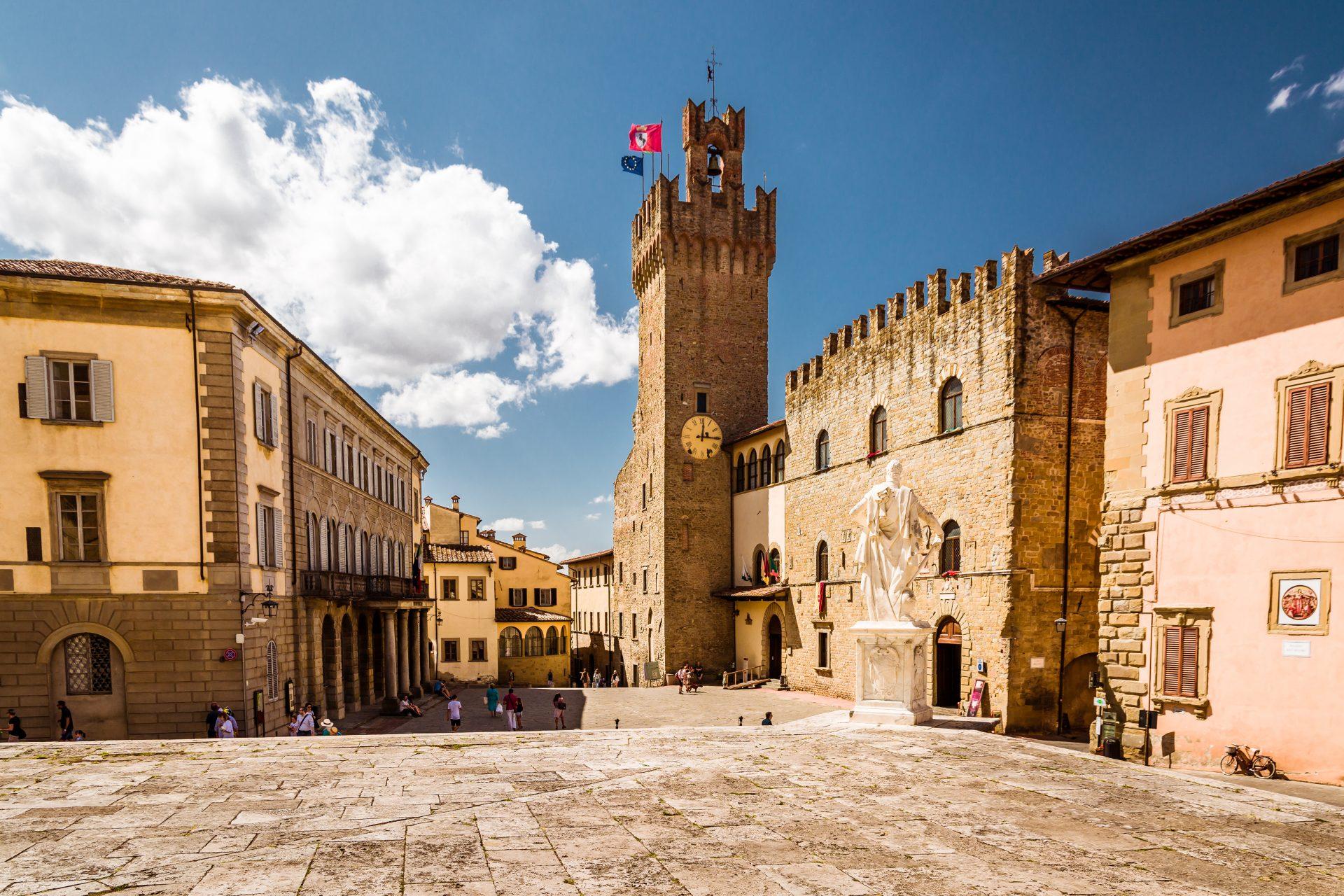 Plein in Arezzo