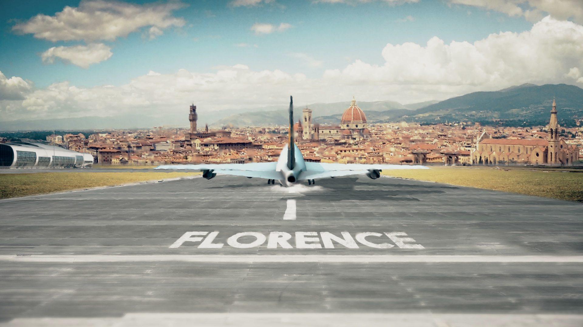 Vliegen naar Florence
