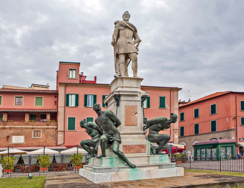 Standbeeld Medici, Livorno