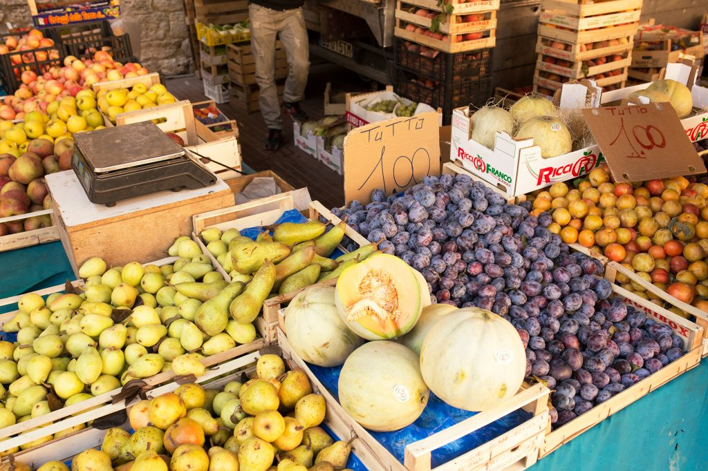 Markt, San Gimignano