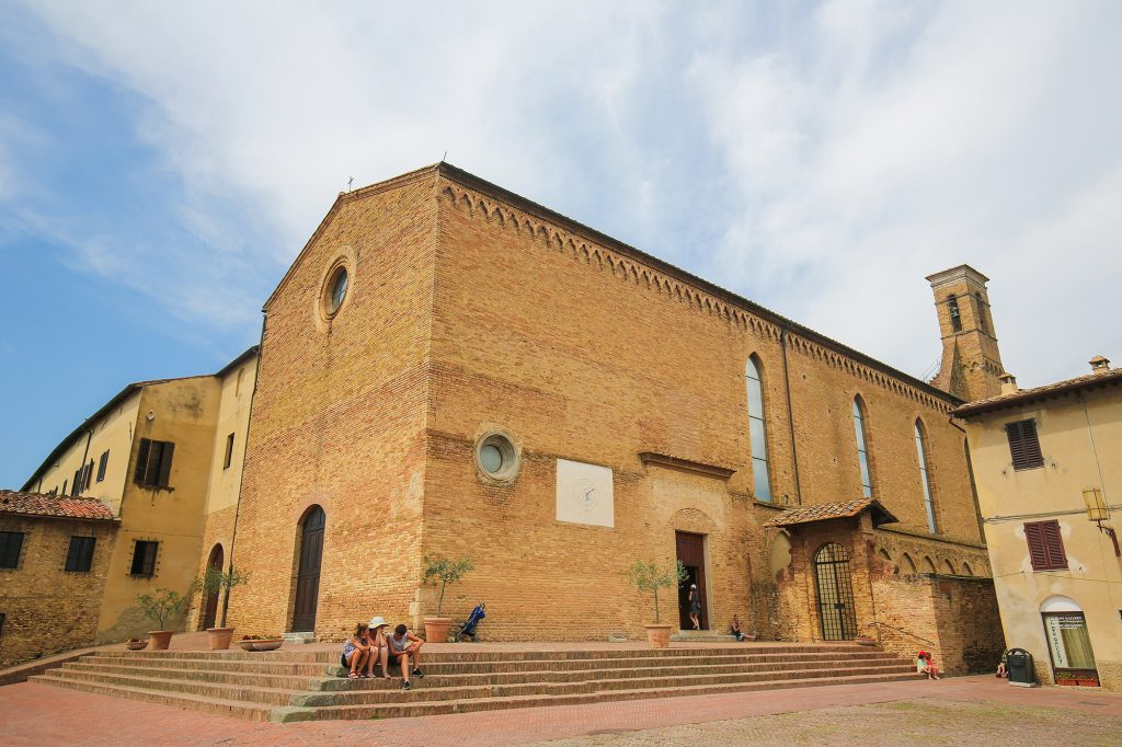 Sant Agostino, San Gimignano