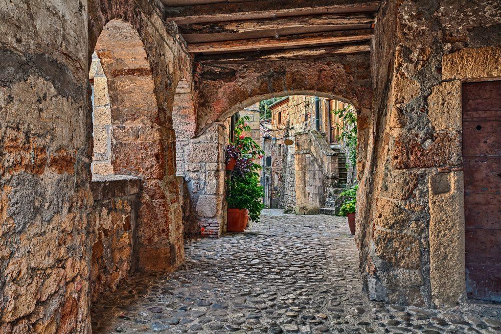 Historisch centrum van Sorano