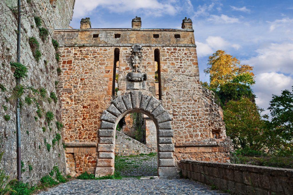 Porta di Merli, Sorano