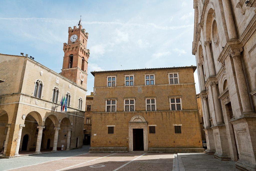 Il Palazzo Borgia, Pienza