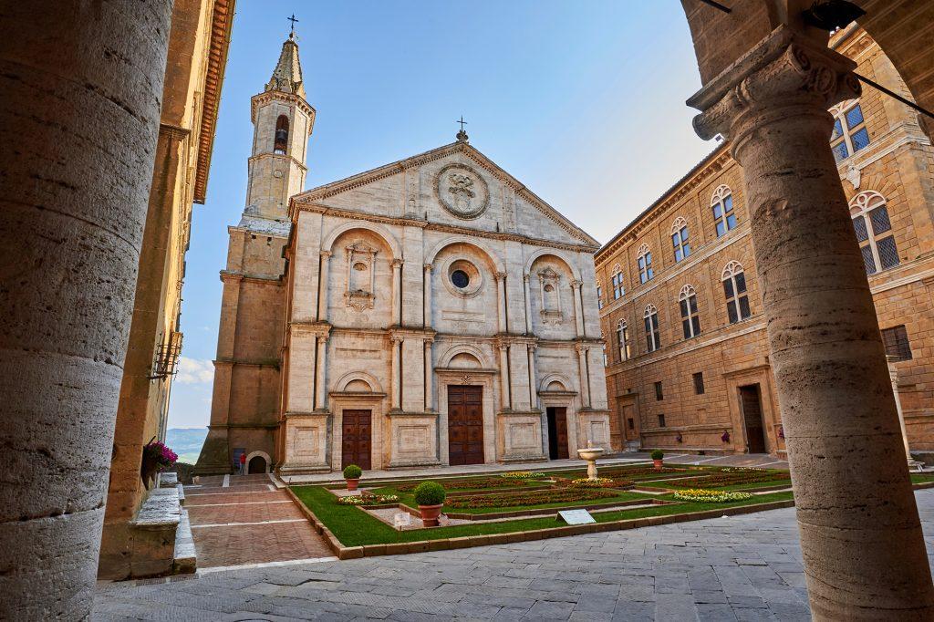 De kathedraal, Il Duomo, Pienza