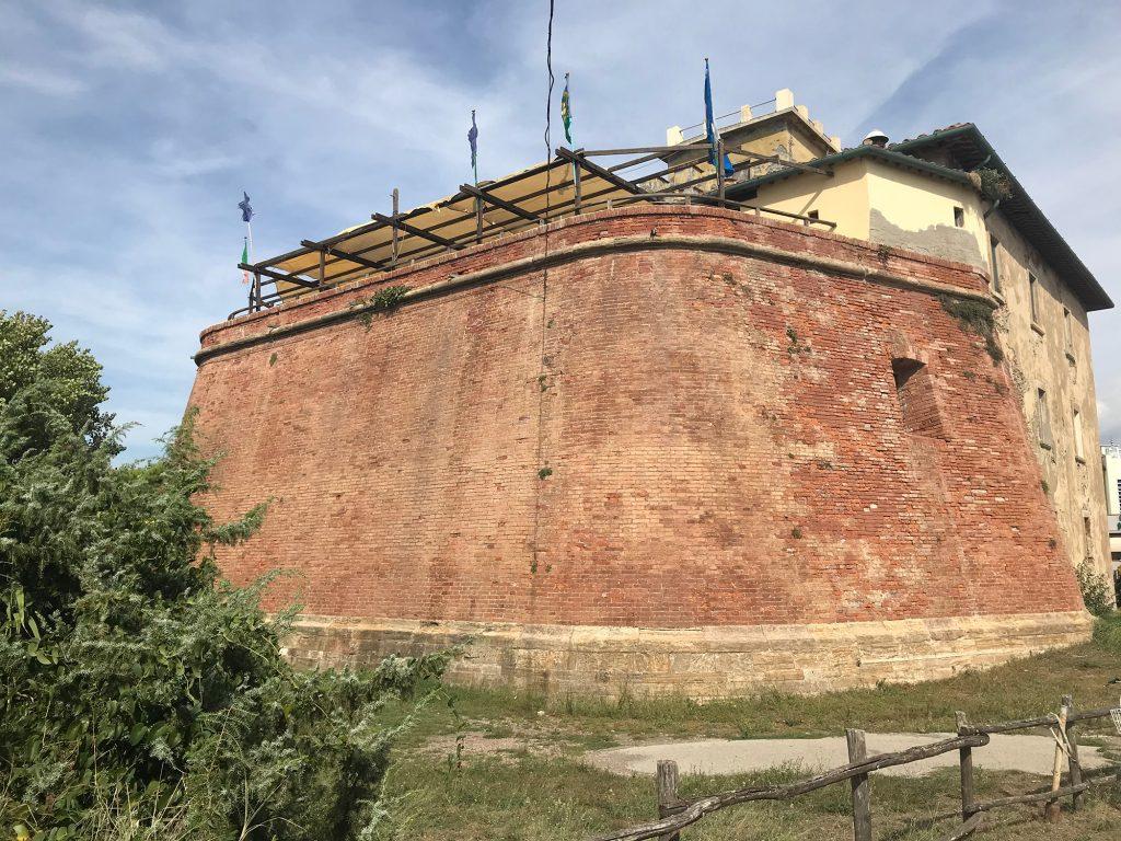 Het fort van Marina di Bibbona